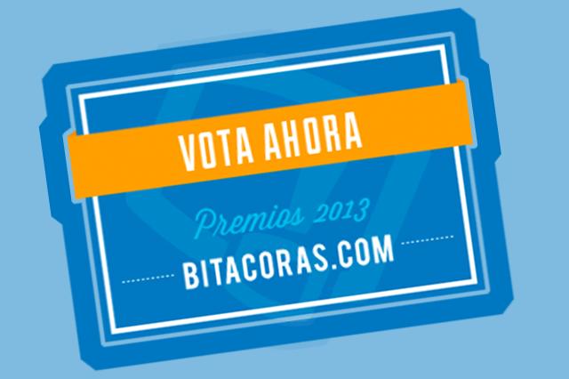 Participo en los premios a mejor blog de Marketing Bitácoras 2013