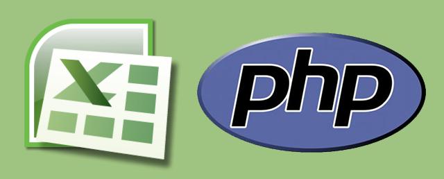 Leer y grabar un fichero '.xls' de Excel con PHP