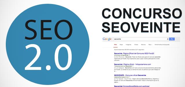 Seoveinte, el concurso SEO de foro20.com